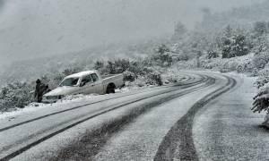 Καιρός: Απαγόρευση κυκλοφορίας βαρέων οχημάτων σε τμήματα του οδικού δικτύου της Πελοποννήσου