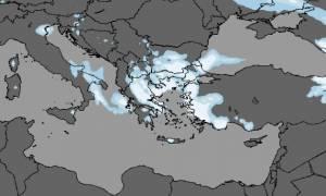 Καιρός ΕΜΥ: Πού θα χιονίζει την Τρίτη – Έρχεται και νέο κύμα κακοκαιρίας
