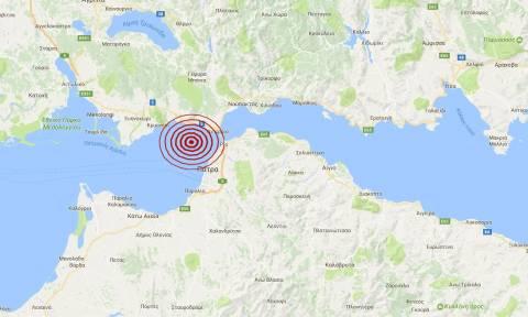 Νέος σεισμός κοντά στην Πάτρα