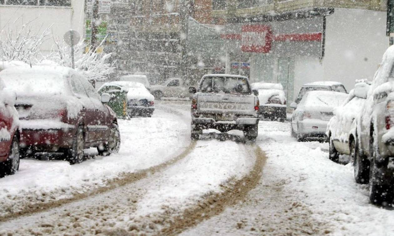 Καιρός Live: Τους -11 βαθμούς έφτασε η θερμοκρασία στην Κοζάνη (vid)