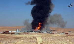 Το Ισλαμικό Κράτος ανατίναξε σταθμό φυσικού αερίου που προμήθευε τη Συρία (video)