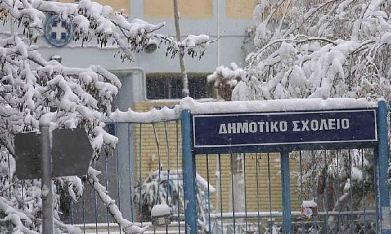 Χιόνια στην Αθήνα – Προσοχή: Ποια σχολεία είναι κλειστά στην Αττική