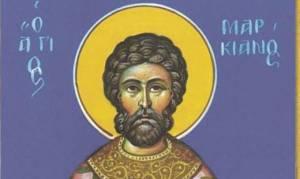 Άγιος Μαρκιανός: Ο ιερέας και οικονόμος του ναού της Αγίας Σοφίας
