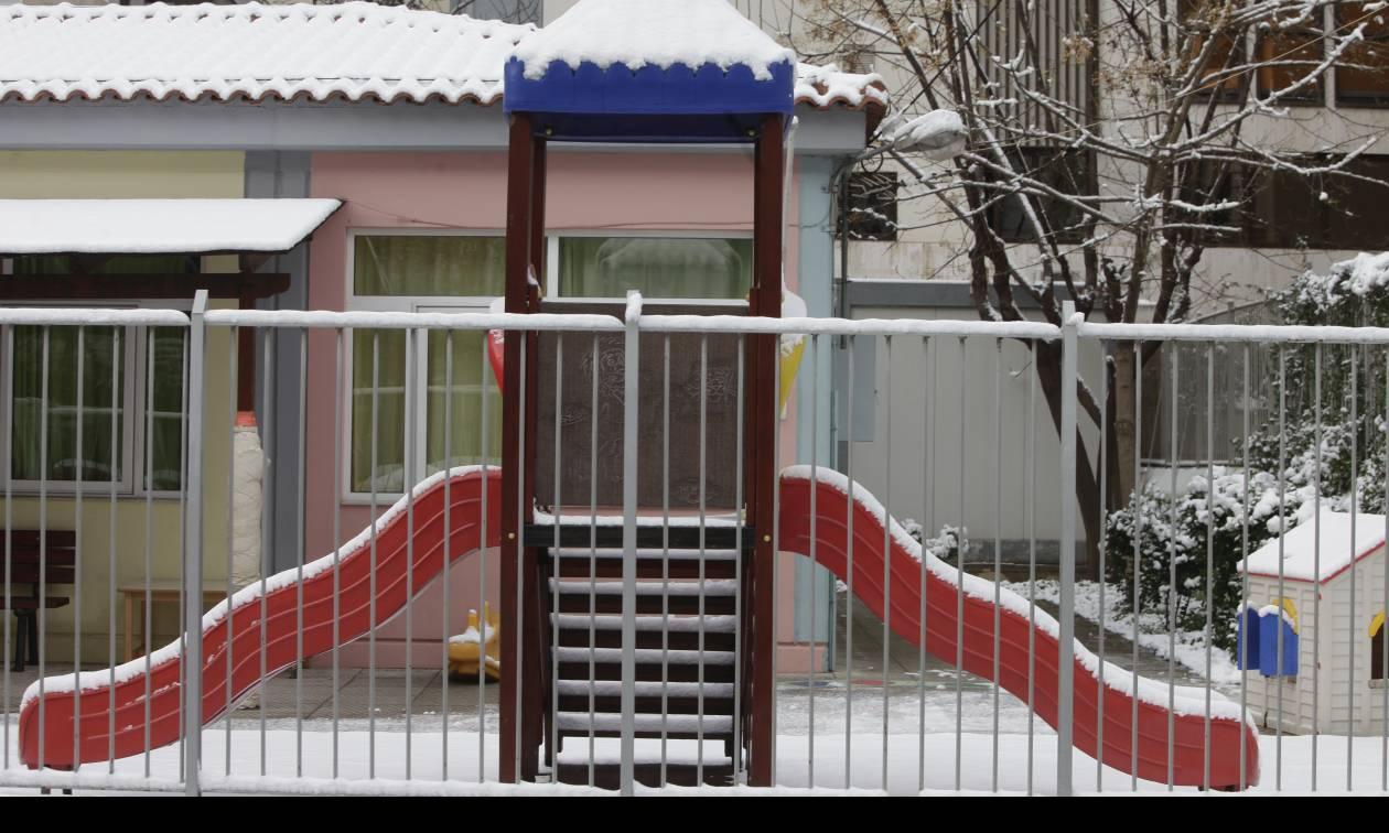 Καιρός ΤΩΡΑ: Τα κλειστά σχολεία αύριο, Τετάρτη (11/01) σε όλη την Ελλάδα (ΛΙΣΤΑ)
