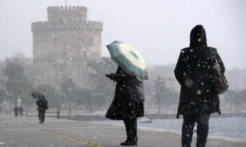 Καιρός- Δήμος Θεσσαλονίκης: «Πάγωσαν» αλατιέρες και υδροφόρες