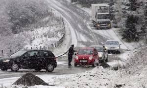 Καιρός: Ποια η κατάσταση στο οδικό δίκτυο της Κεντρικής Μακεδονίας