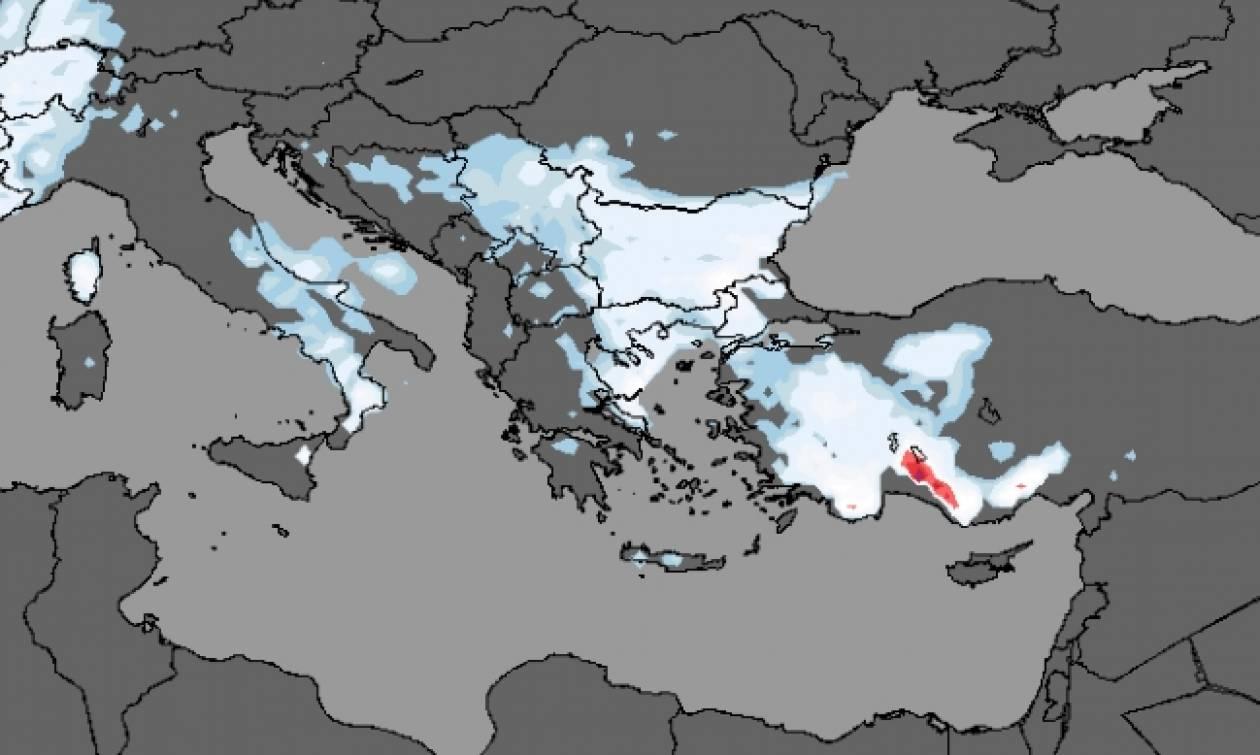 Καιρός LIVE: Πού χιονίζει τώρα – Πού θα το στρώσει κατά τη διάρκεια της νύχτας (vid)