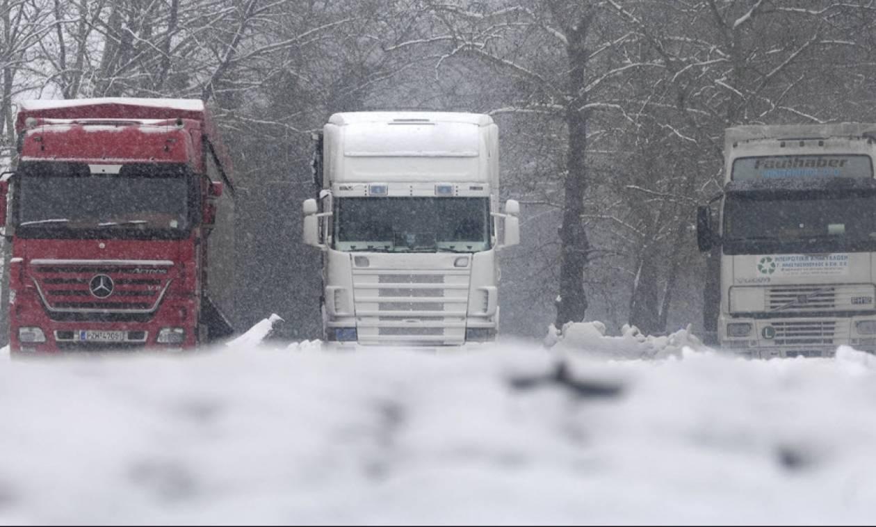 Καιρός Live: Απαγόρευση κυκλοφορίας φορτηγών σε Χαλκιδική, Κιλκίς και Σέρρες