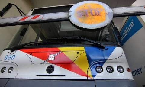Καιρός: Ακινητοποιημένα λόγω κακοκαιρίας την Τετάρτη (11/1) τα περισσότερα λεωφορεία του ΟΑΣΘ