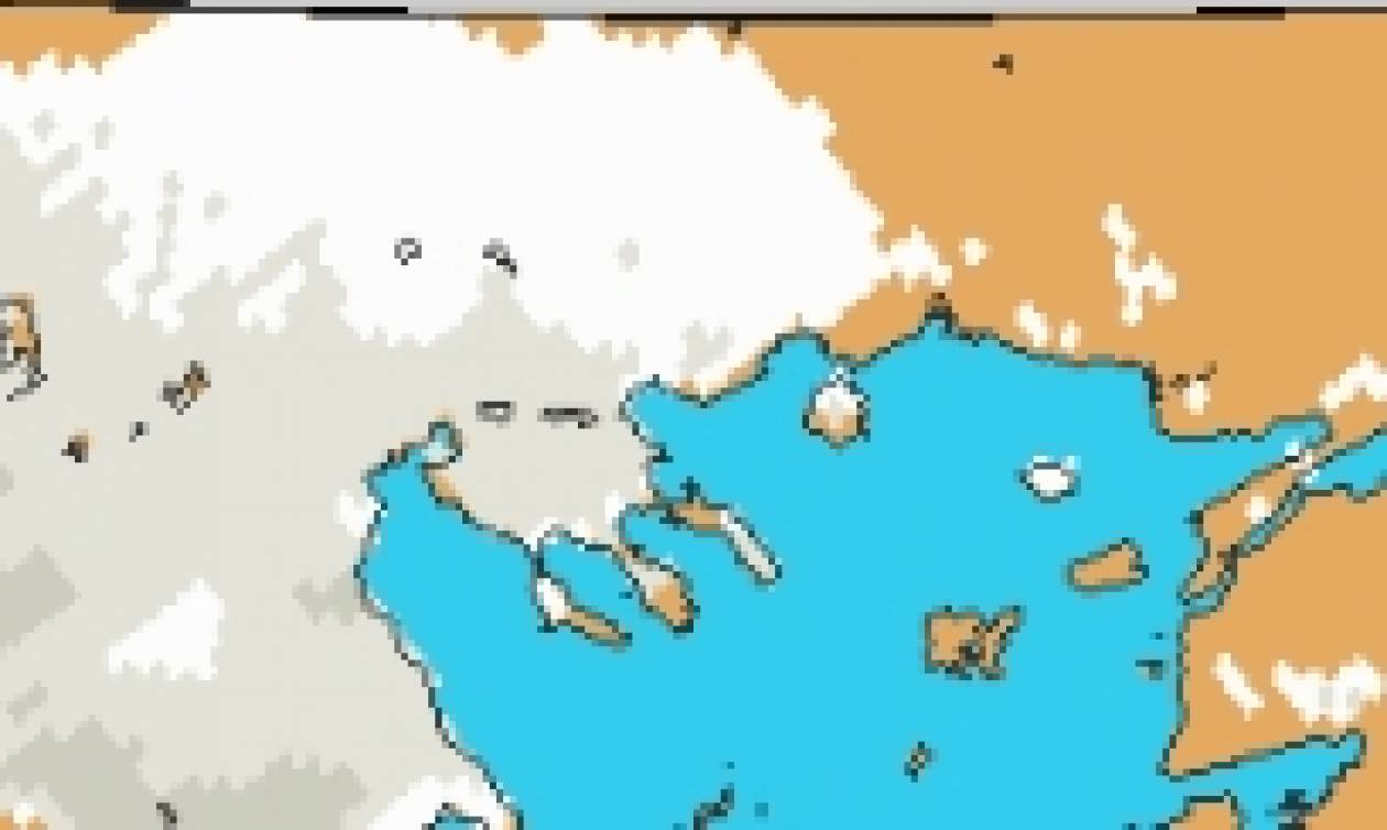 Καιρός - χάρτης χιονού: Πού θα ρίξει μέχρι 30 εκατοστά χιόνι σήμερα; (Photo)