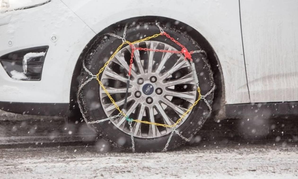 Χιόνια: Αυτοί οι δρόμοι είναι κλειστοί σε όλη την Ελλάδα - Πού χρειάζονται αντιολισθητικές αλυσίδες