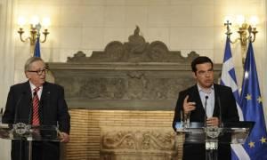 Τσίπρας – Γιούνκερ: Κρίσιμος ο ρόλος της Ε.Ε στο Κυπριακό