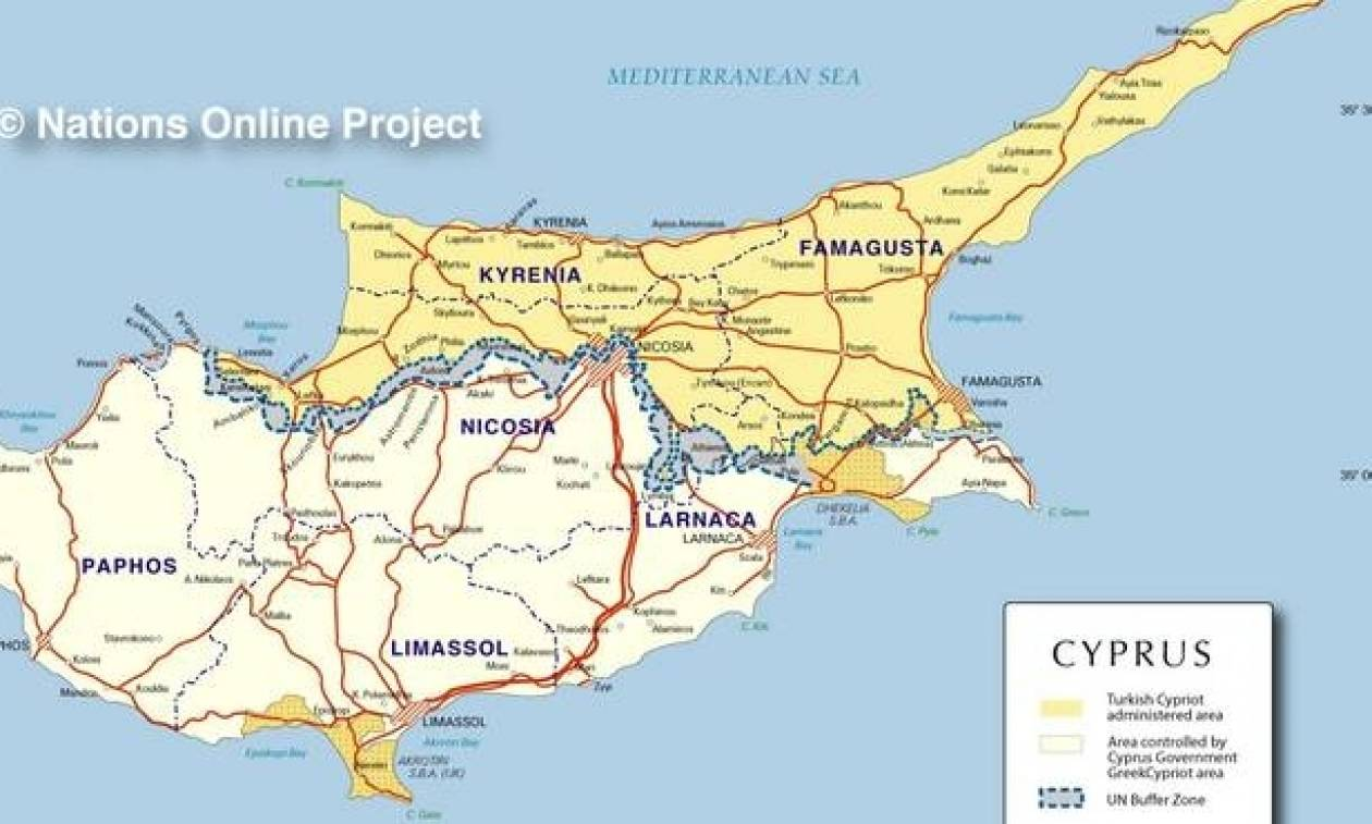 Κυπριακό: Αυτά είναι τα χωριά που αξιώνει η Ε/Κ πλευρά