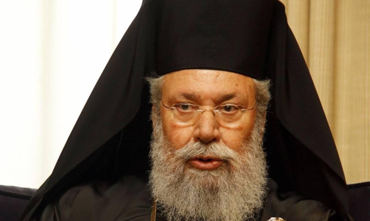 Αρχιεπίσκοπος Κύπρου: Συρθήκαμε στις συνομιλίες της Γενεύης (video)