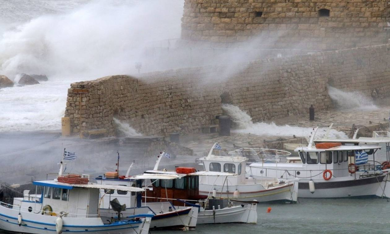 Καιρός-Δήμος Ηρακλείου: Καλεί τους πολίτες να αναφέρουν καταστροφές και ζημιές