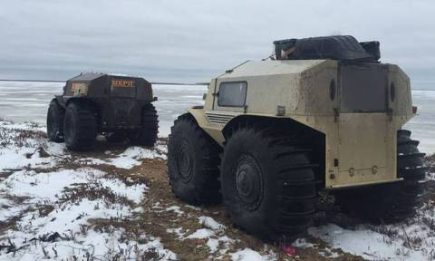 Το Sherp ATV πάει παντού και δεν σταματά πουθενά!