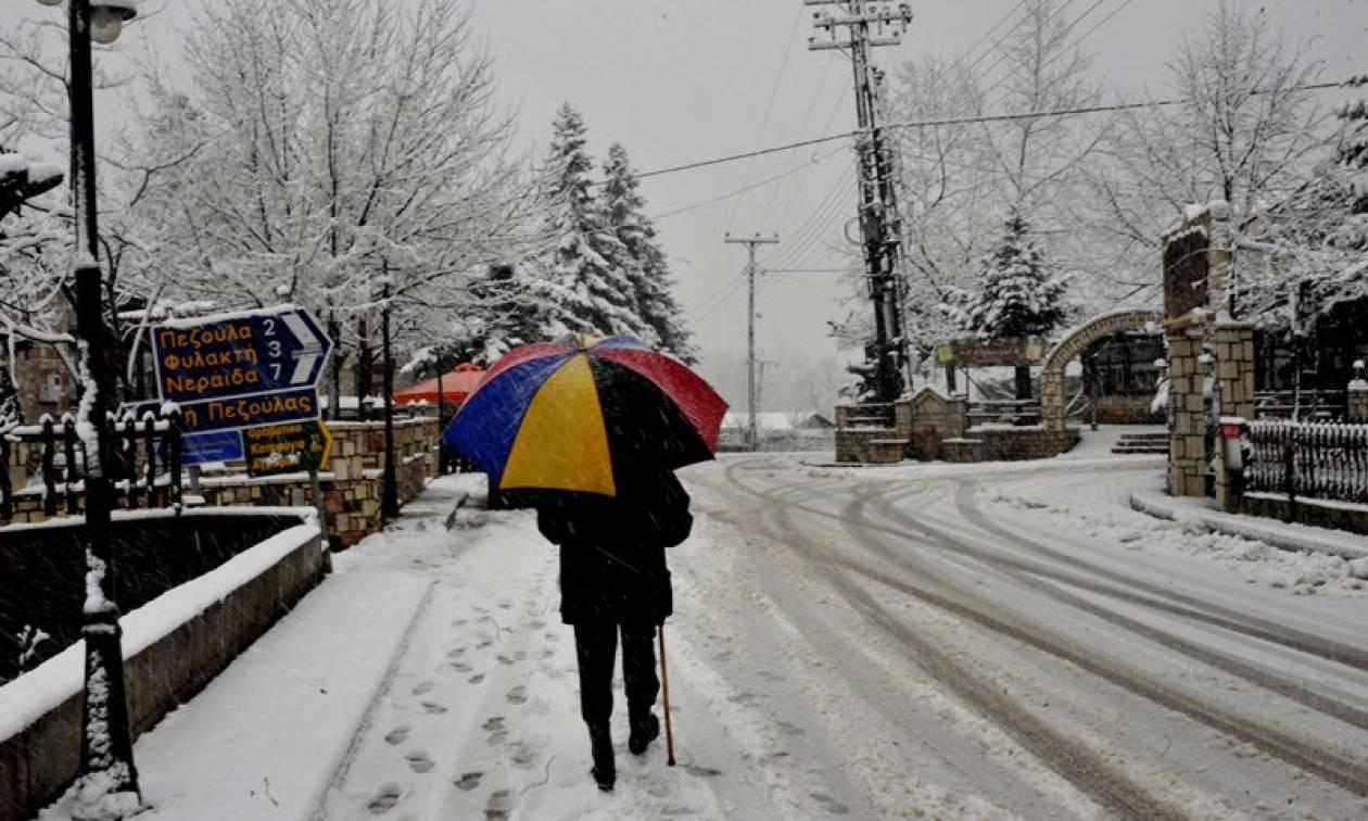 Καιρός Live: Ένας νεκρός από την κακοκαιρία στην Καρδίτσα