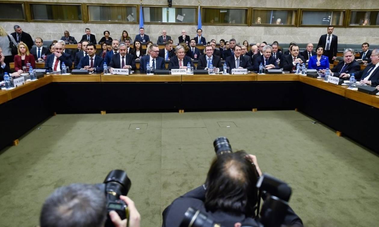Κυπριακό Live: Κρίσιμη διάσκεψη στη Γενεύη - Ολοκληρώθηκε το πρώτο μέρος