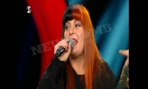 Πανικός στο The Voice με την Κύπρια Κρυστάλλω- Μάσησε την αντίπαλο της και χάρισε «Πουρέκια» (video)