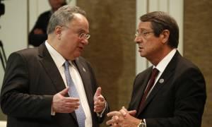 Κυπριακό: Τετ-α-τετ Κοτζιά - Αναστασιάδη στο «παρά ένα» της Διάσκεψης στη Γενεύη
