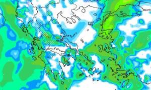 Καιρός ΤΩΡΑ: Δείτε πότε θα «χτυπήσει» ο νέος χιονιάς - Θα επηρεάσει Αθήνα - Θεσσαλονίκη; (ΧΑΡΤΗΣ)