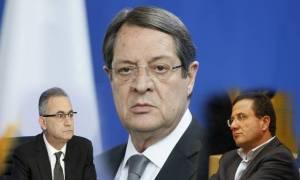 ΑΠΟΚΑΛΥΠΤΙΚΟ - Κύπρος: Φωνές και ένταση στο Εθνικό μεταξύ Αβέρωφ, Περδίκη και Αναστασιάδη