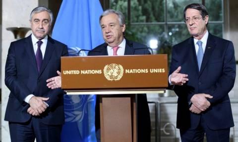 Κυπριακό Live: Σε κρίσιμη καμπή οι διαπραγματεύσεις  - Ξεκίνησε το δεύτερο μέρος των συζητήσεων
