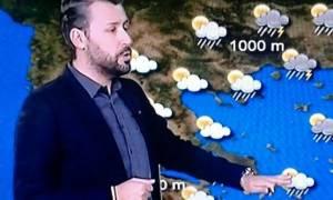 Μετεωρολόγος προειδοποιεί: «Κρατήσατε χώρο για σέλφι για τον επόμενο (;) χιονιά; (Photo)