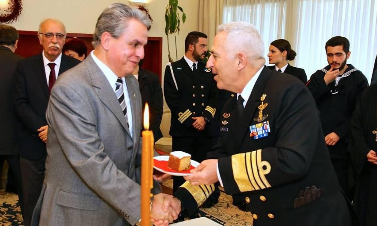 Πολεμικό Ναυτικό: Kοπή βασιλόπιτας του Γενικού Επιτελείου Εθνικής Αμύνης (pics)