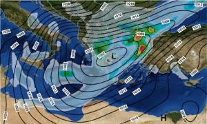 Καιρός: Οι 4 φάσεις του χιονιά «Αριάδνη» (vids)