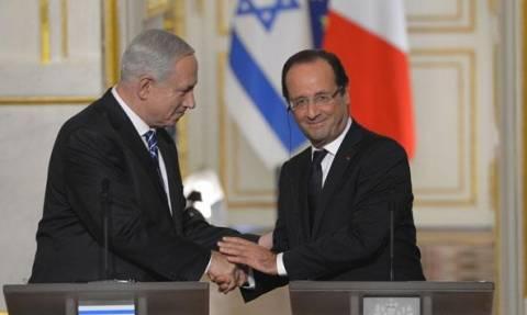 Ολάντ: Μόνο Ισραηλινοί και Παλαιστίνιοι θα φέρουν τη μεταξύ τους ειρήνη – Πυρά από Νετανιάχου