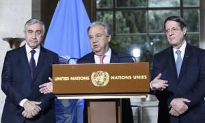 Γκουτέρες: Αισιοδοξία για την προσπάθεια επίλυσης του Κυπριακού, εκφράζει ο γγ του ΟΗΕ