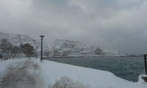 Συγκλονιστικό βίντεο: Ο «Πρωτεύς» παλεύει με τα κύματα για να δέσει στη Σκόπελο!