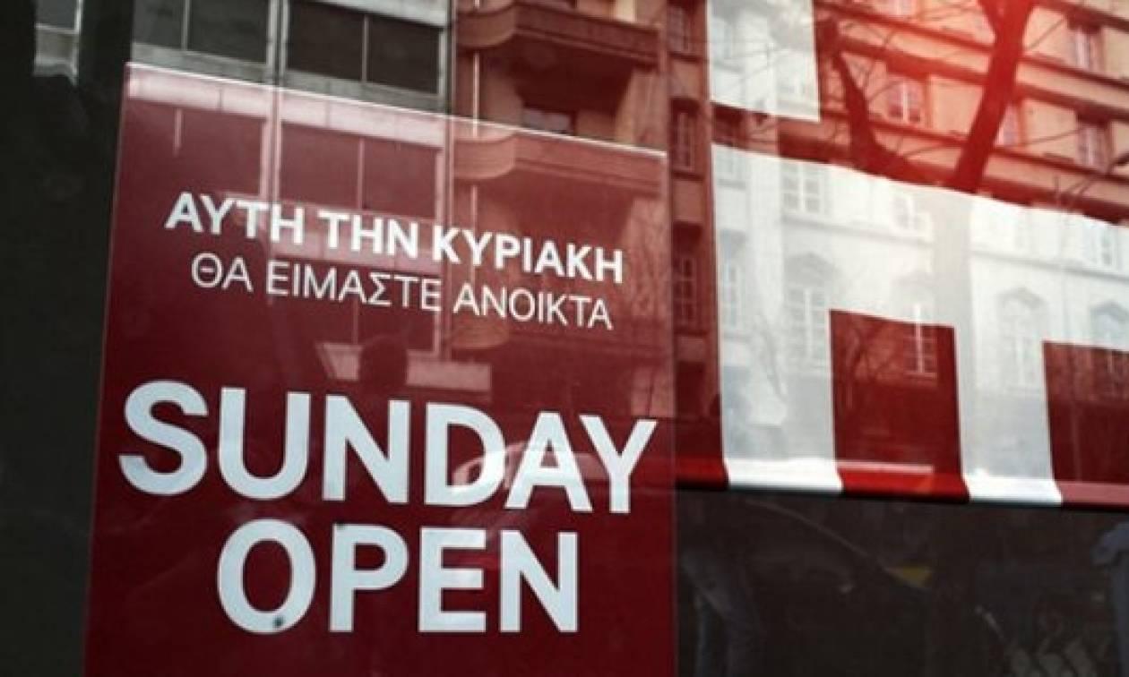 Οκτώ Κυριακές ανοικτά τα καταστήματα