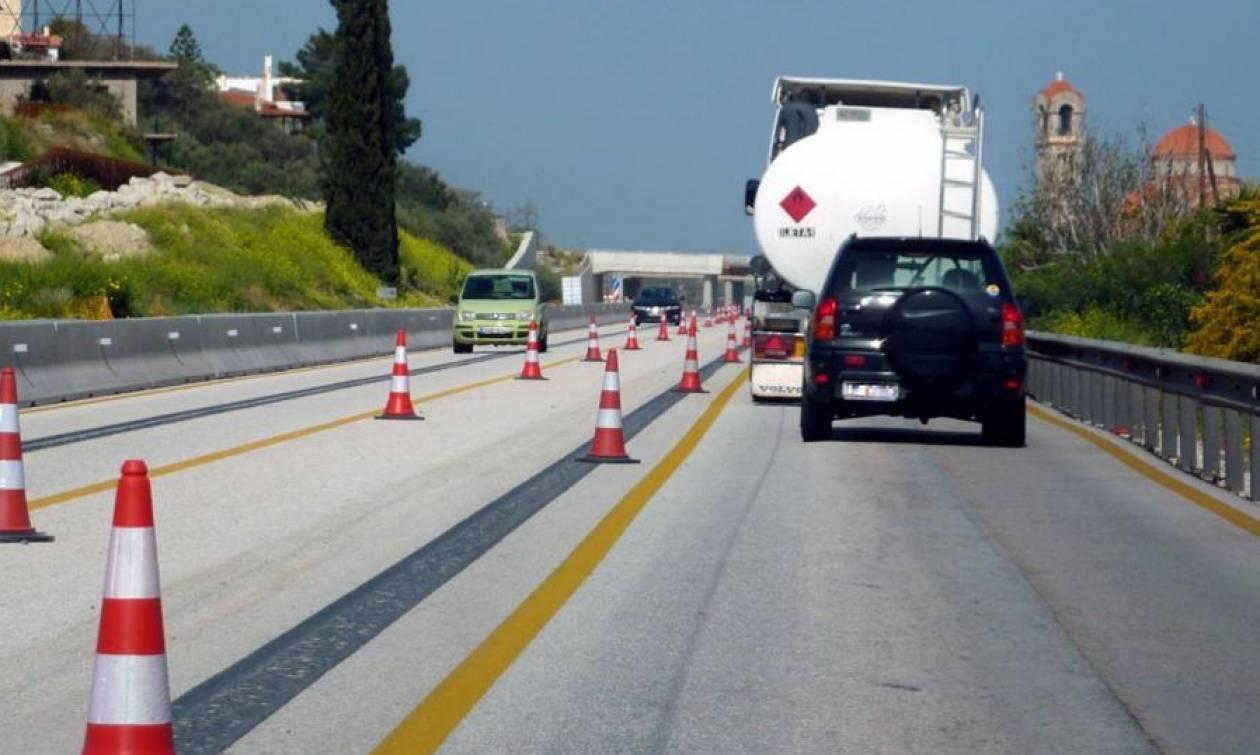 Διακοπή κυκλοφορίας στην Κορίνθου - Πατρών