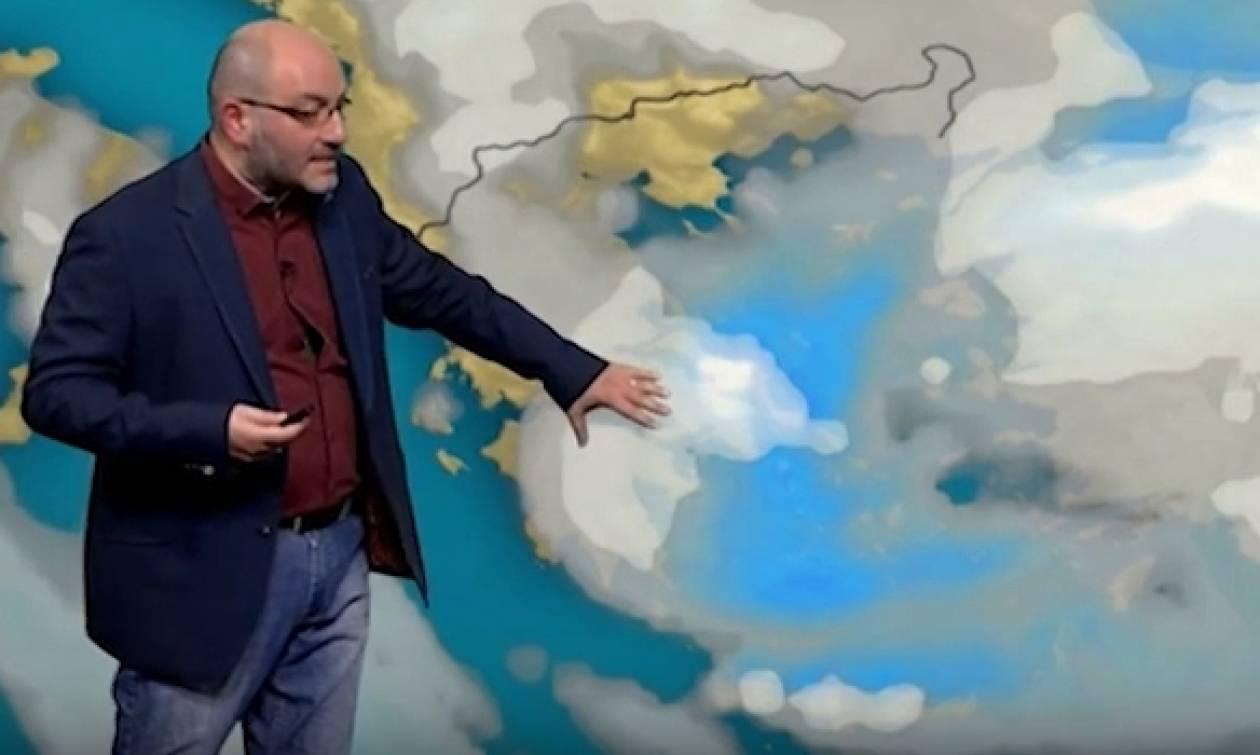 Καιρός: Για... παγωμένη βροχή προειδοποιεί ο Σάκης Αρναούτογλου-Ποιες περιοχές θα χτυπήσει; (video)