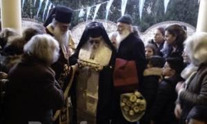 Λείψανο της Αγίας Αικατερίνης στον Άγιο Ιωάννη τον Καλυβίτη στο Βαθύ Χαλκίδας