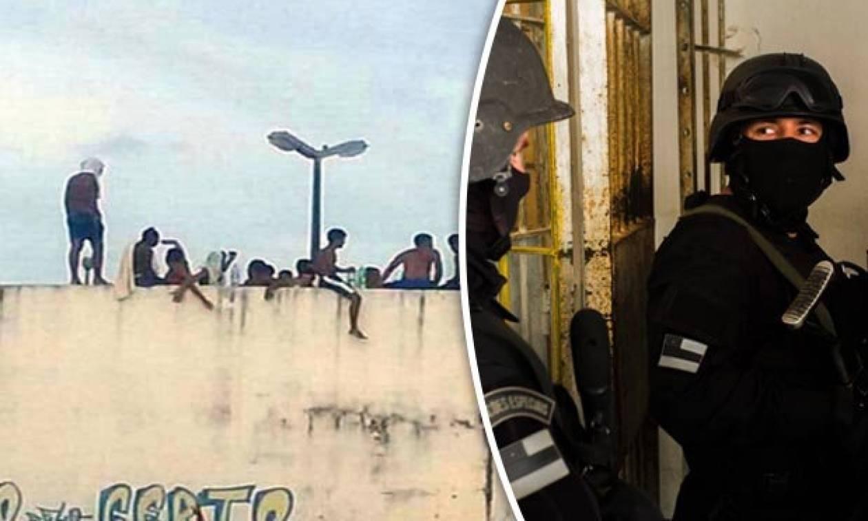 Νέα σφαγή σε φυλακή στη Βραζιλία: Αποκεφάλισαν τουλάχιστον 10 κρατούμενους (Vids)