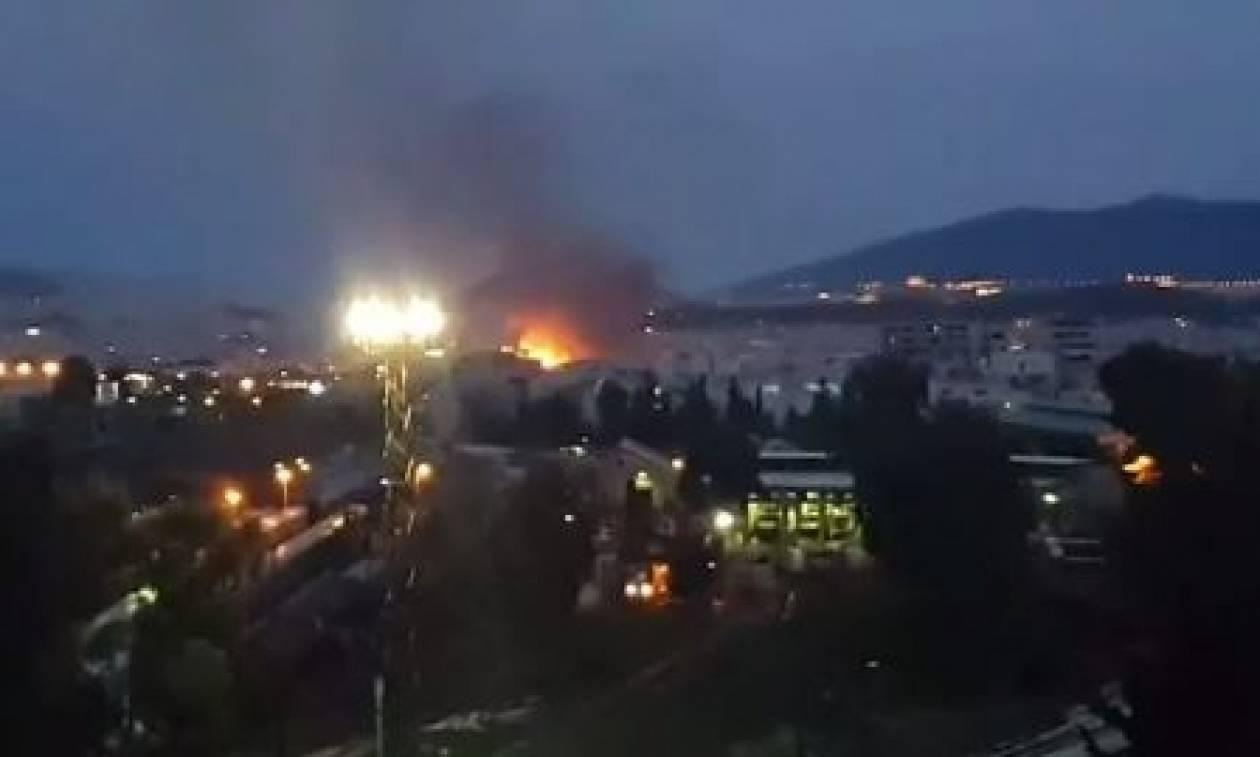 Φωτιά στον Ταύρο: Δείτε τα βίντεο από τις ισχυρές εκρήξεις
