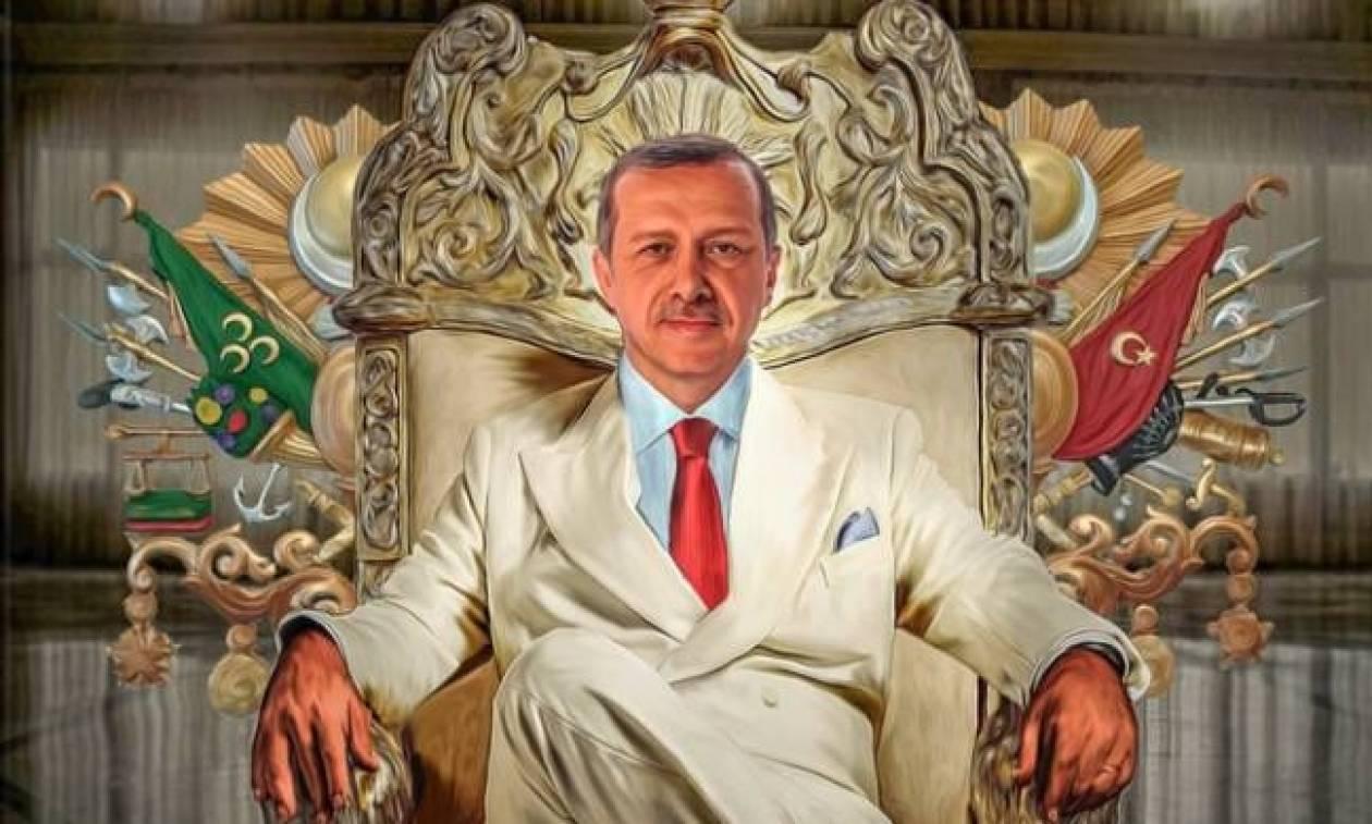 Απόλυτος Σουλτάνος: Ο Ερντογάν «καταργεί» και τον πρωθυπουργό