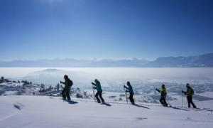 Απίστευτο! Ουρές, βρισιές και σπρωξίματα στο Χιονοδρομικό Κέντρο Παρνασσού (vid)
