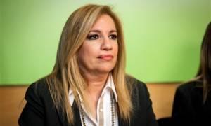 Γεννηματά «καρφώνει» Βενιζέλο για Παπανδρέου: Δεν είναι ώρα για ρετρό διαφωνίες