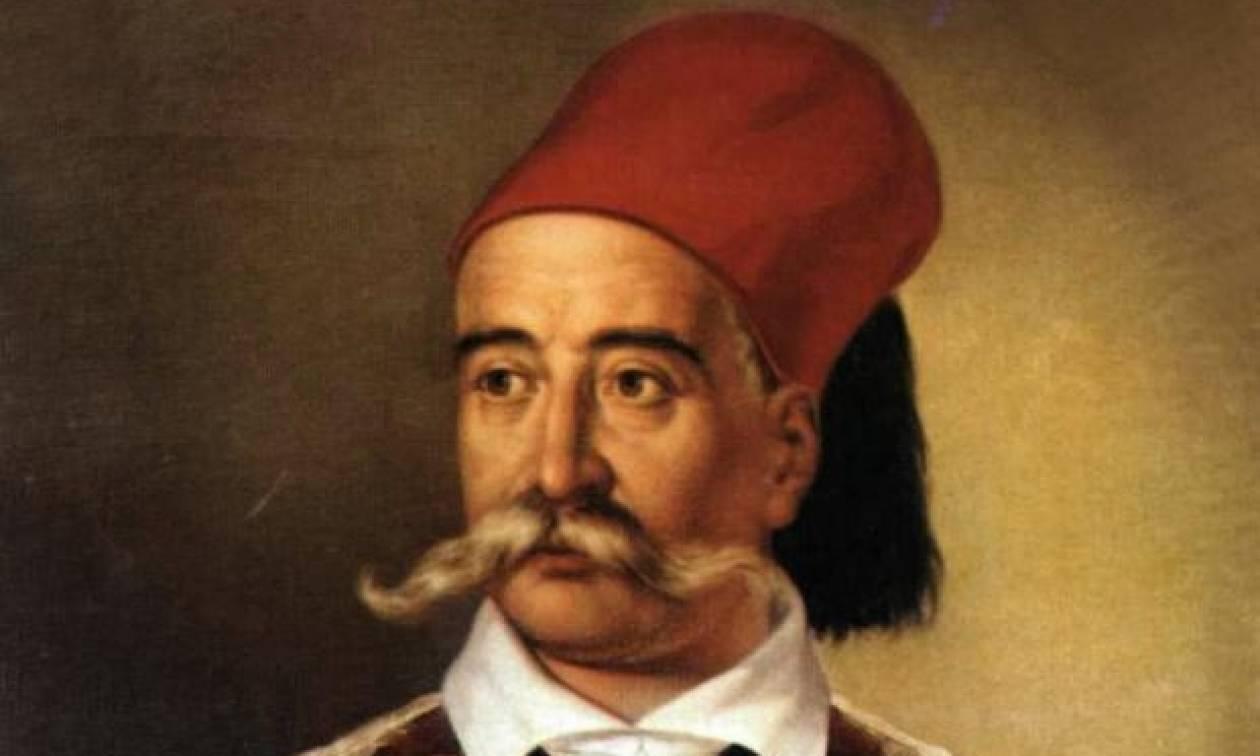 Σαν σήμερα το 1884 πέθανε η ηγετική μορφή της Ελληνικής Επανάστασης, Πέτρος Μαυρομιχάλης