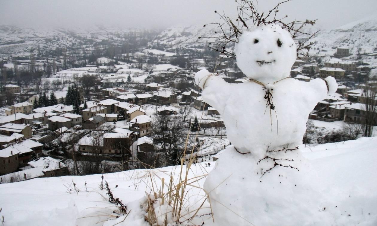 Καιρός ΕΜΥ: Πού θα χιονίζει την Τρίτη (17/1) - Αναλυτική πρόγνωση
