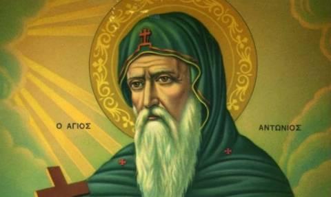 Άγιος Αντώνιος: Ο θαυμαστός βίος και τα θαύματά του
