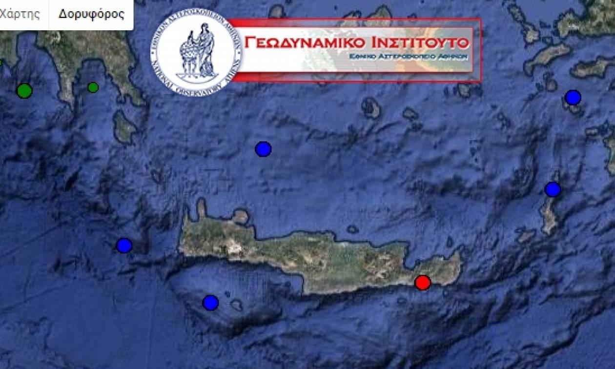 Σεισμός ταρακούνησε την Κρήτη