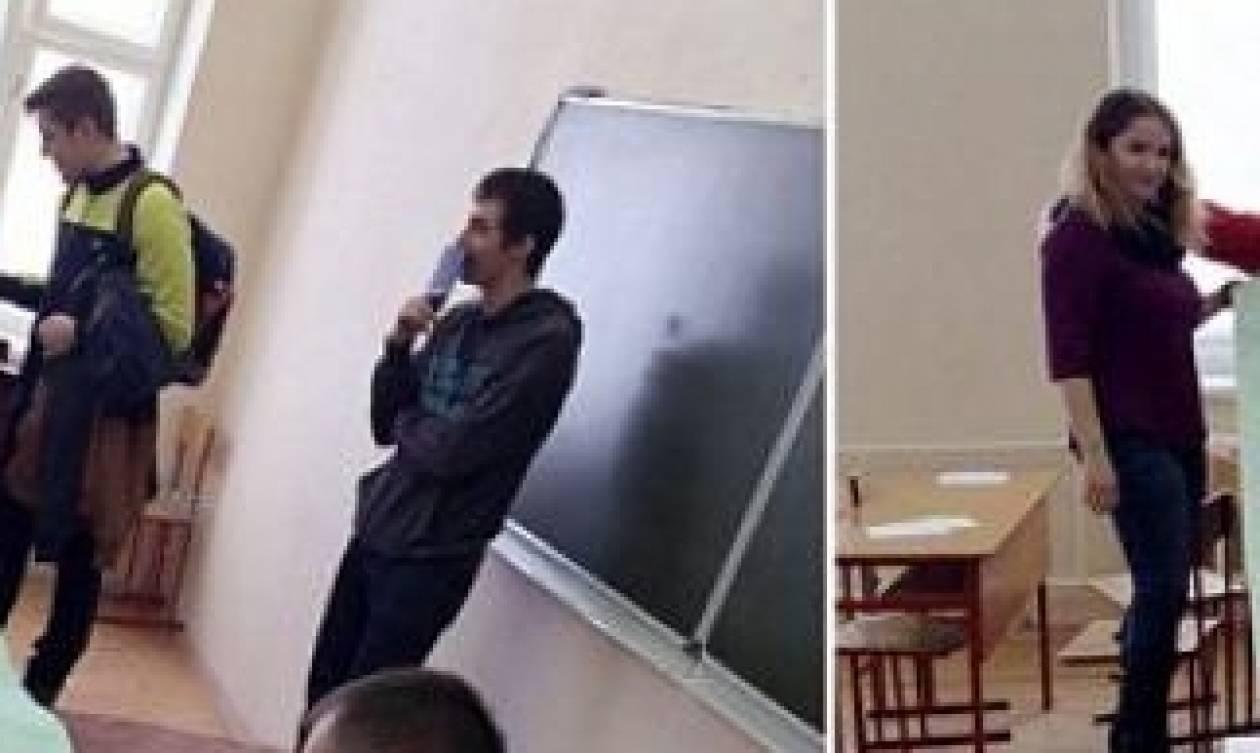 Αφωνος ο καθηγητής: Φοιτητές έφτιαξαν το σκονάκι του αιώνα για τις εξετάσεις στη Φυσική (photo)