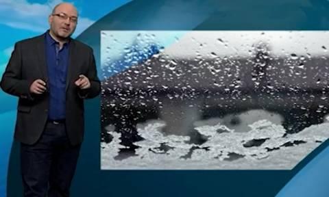 Προειδοποίηση απ' τον Σάκη Αρναούτογλου: Χιόνια πυκνά, αλλά και χιονοθύελλες την Τετάρτη (video)