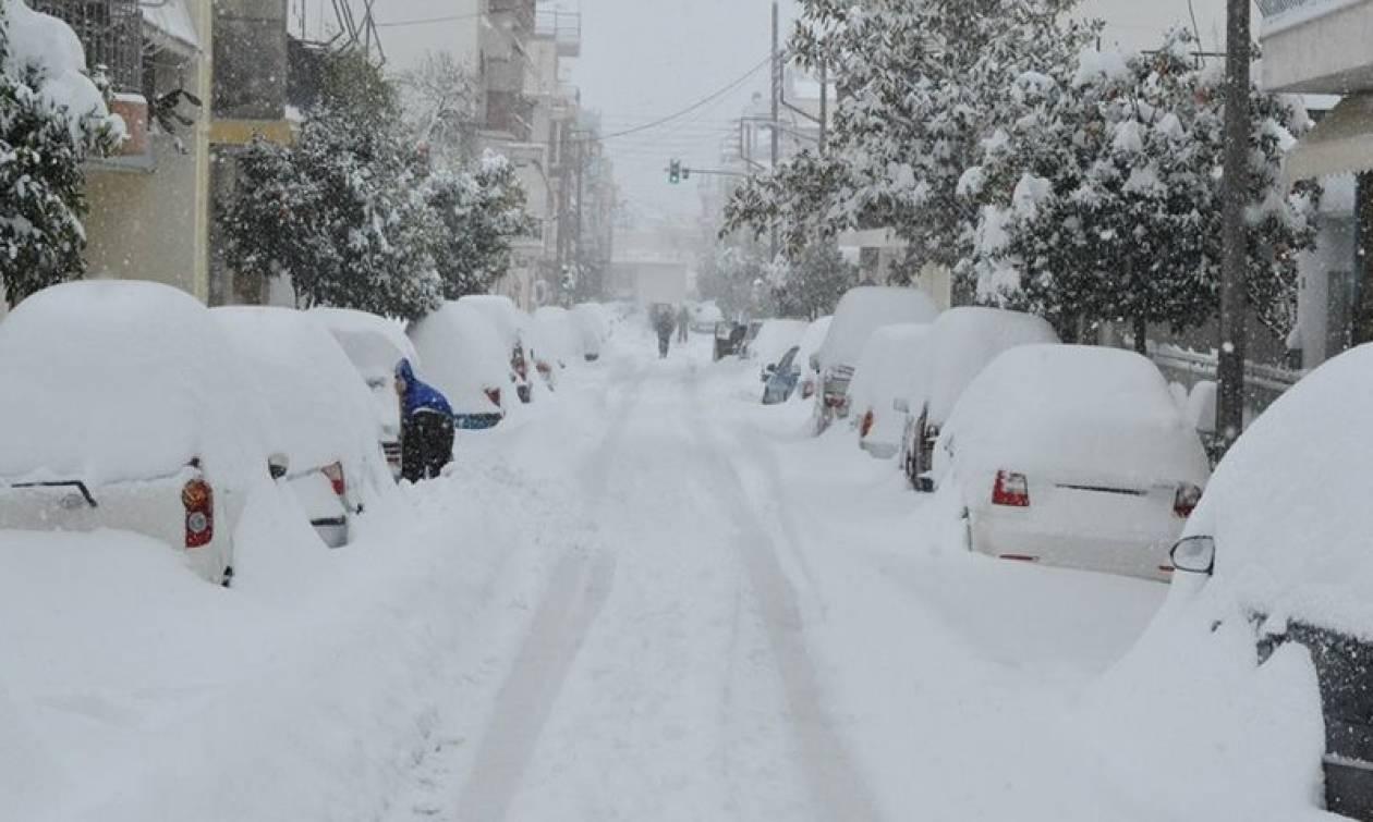 Meteo Καιρός: Δείτε πού θα χιονίσει αύριο, Τετάρτη (18/1)