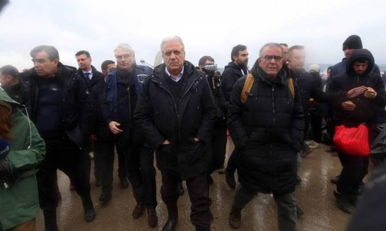 Στη Μυτιλήνη σήμερα Αβραμόπουλος και Μουζάλας